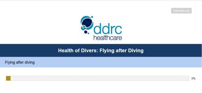 British Healthcare Company Conducting 'Flying After Diving' Survey