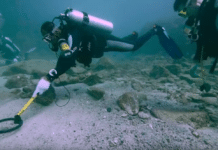 'Shipwreck Hunter' David Mearns searches for clues to a lost ship (Image credit: National Geographic)