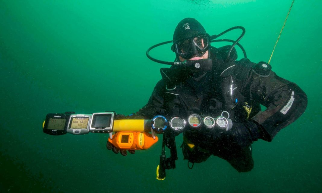 Scientists: Dive Computers Can Play A Role In Measuring Ocean Temperatures, Climate Change (Photo credit: National Facility for Scientific Diving)