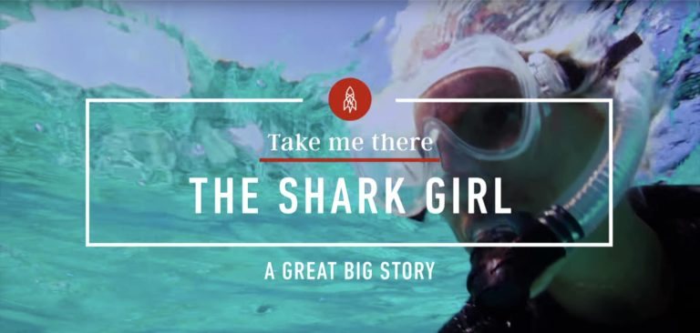 [VIDEO] Braving the Waters of Bimini with Shark Girl