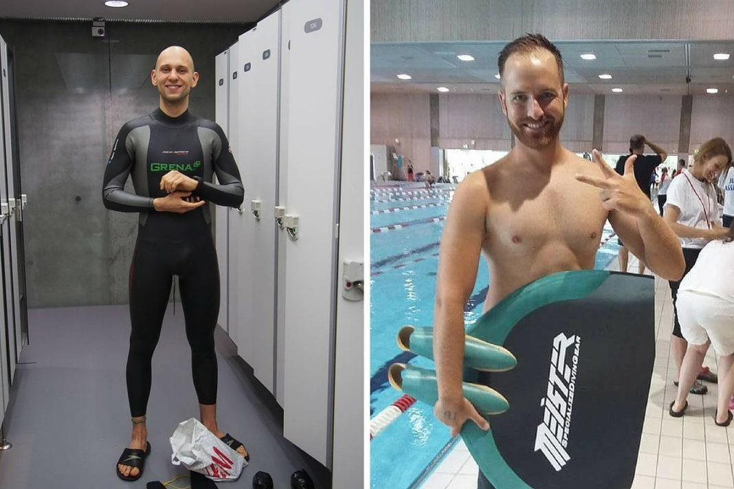 Giorgos Panagiotakis & Mateusz Malina WR 300m DYN