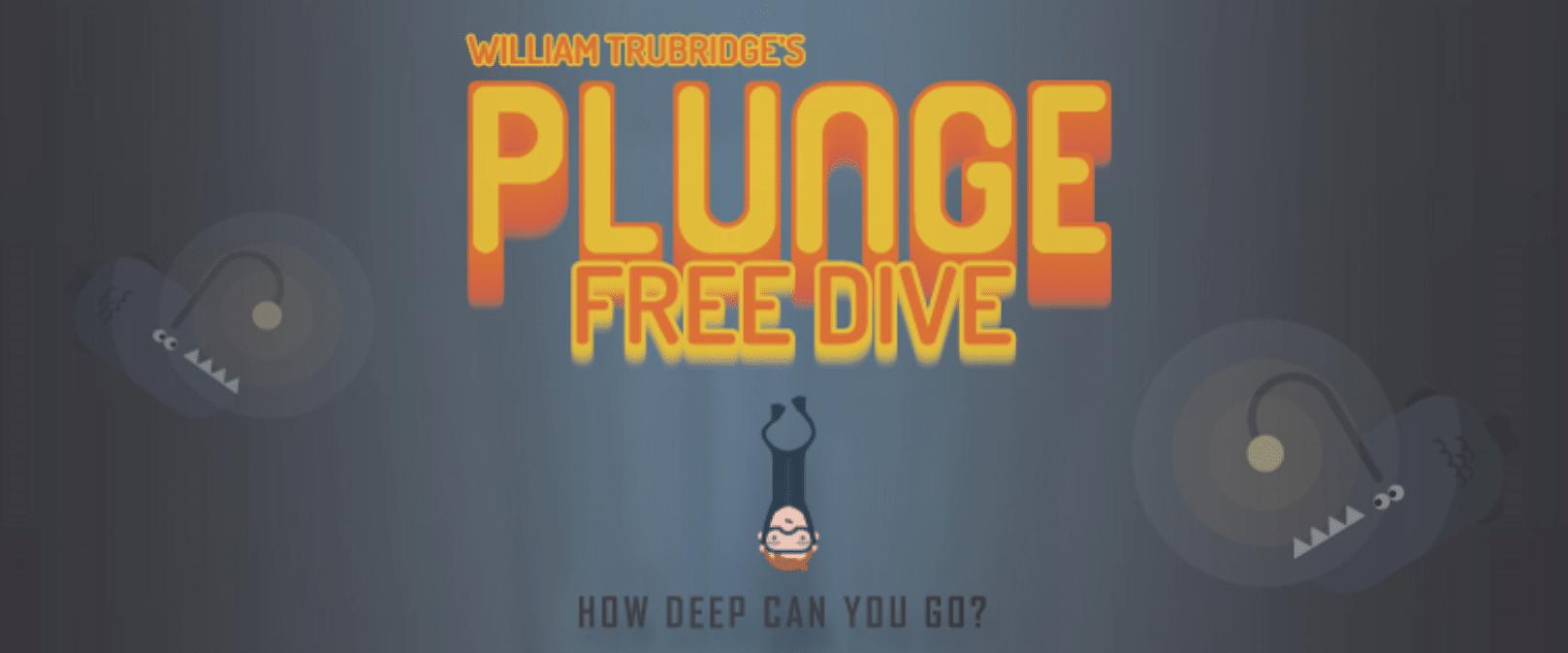 Check Out World Champion Freediver William Trubridge's New Smartphone Game