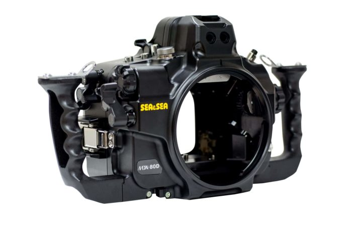 SEA&SEA's MDX-80D camera housing