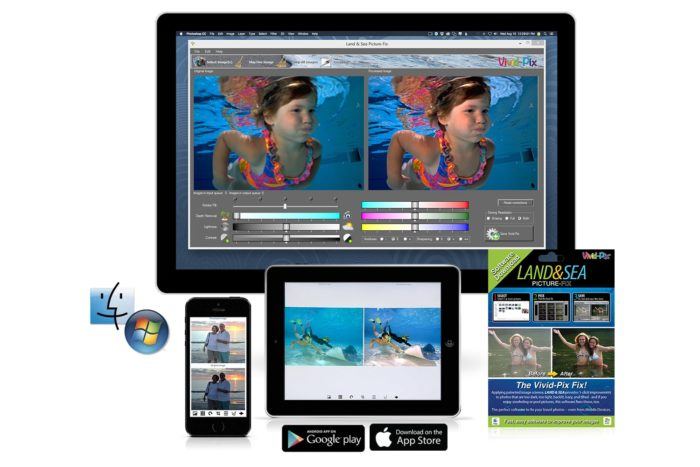 Vivid-Pix's LAND & SEA Software Now Available On iTunes For iOS Smartphones, Tablets