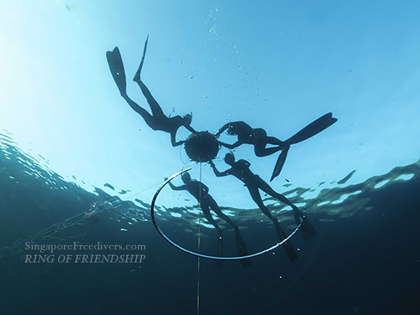 Singapore Freedivers - Ring of Friendship