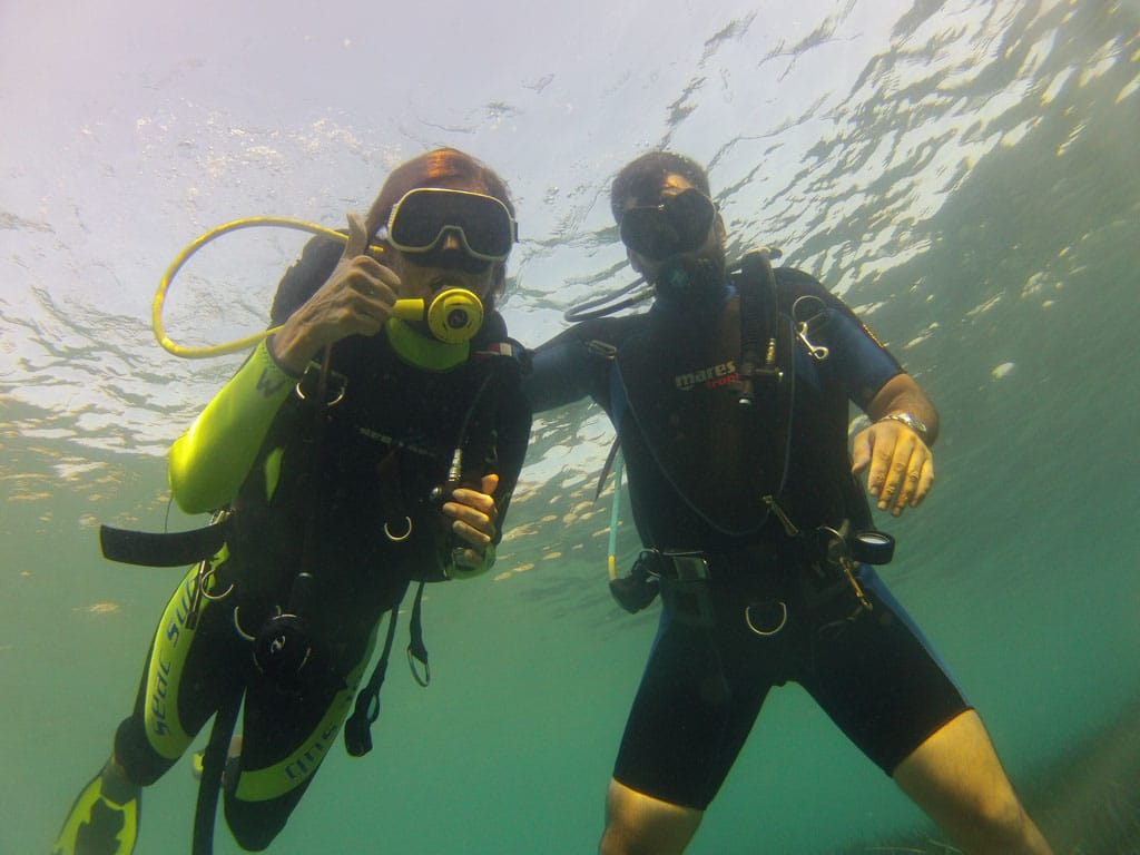 try scuba discover scuba diving