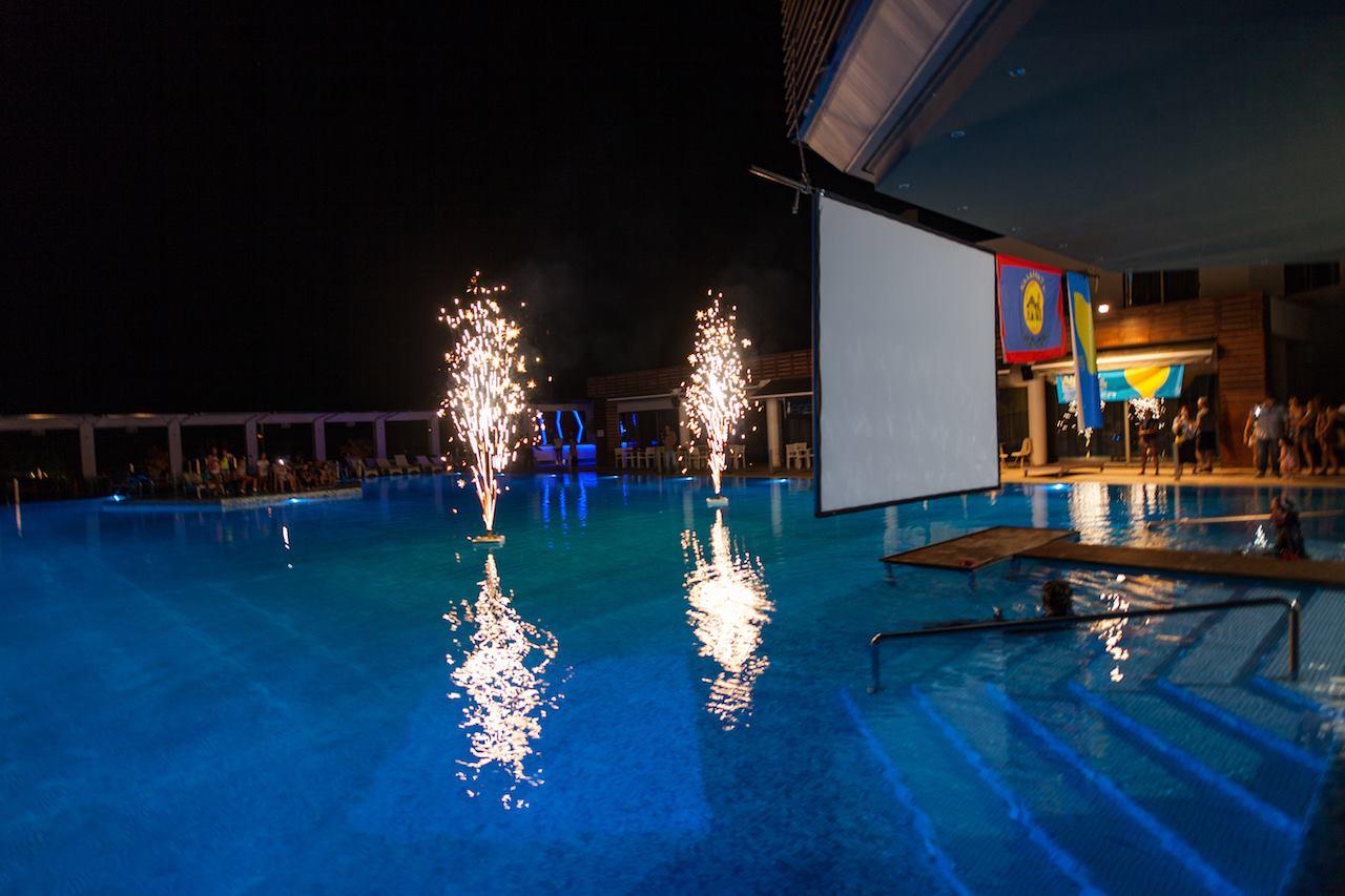 Fireworks - AIDA Team Freediving World Championships 2016