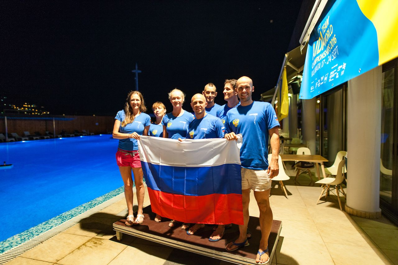 Team Russia - AIDA Team Freediving World Championships 2016