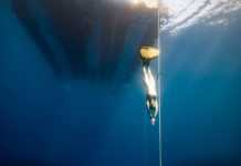 Constant Weight at AIDA Team Freediving World Championships