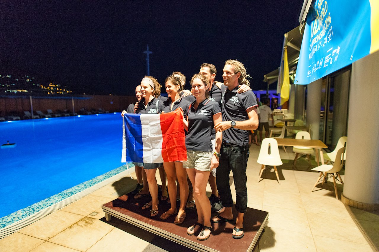 Team France - AIDA Team Freediving World Championships 2016