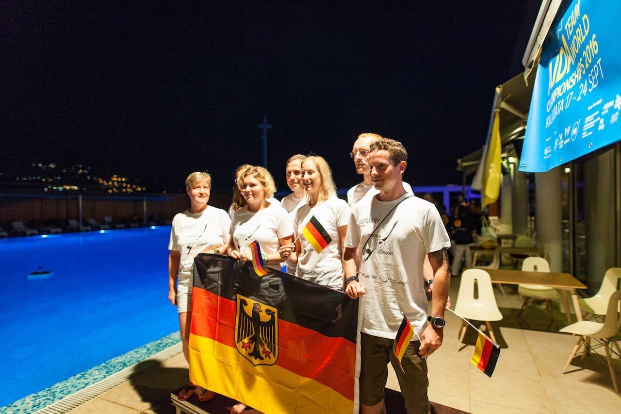 Team Germany - AIDA Team Freediving World Championships 2016