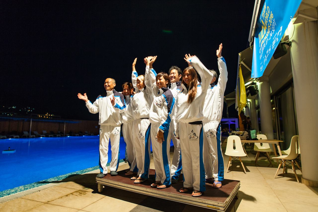 Team Japan - AIDA Team Freediving World Championships 2016