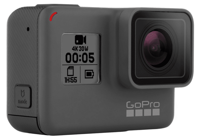 GoPro's latest action camera, the Hero5 Black
