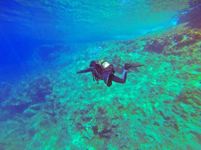 Scuba Diver in Malta