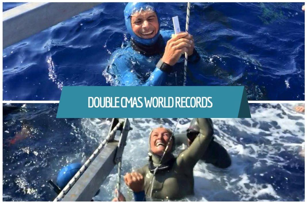 Double CMAS World Records
