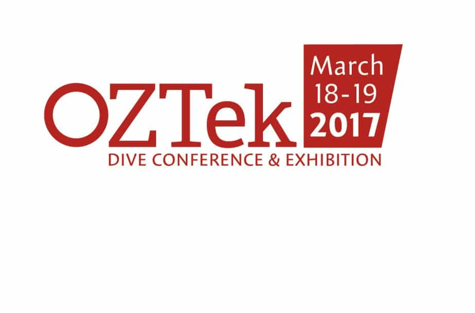 OZTek dive show will be held March 18-19, 2017