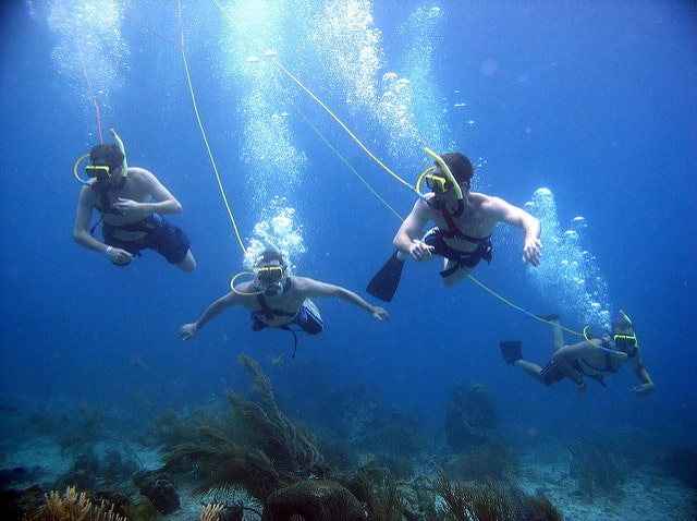Hookah Surface Supplied Air for Recreational Divers