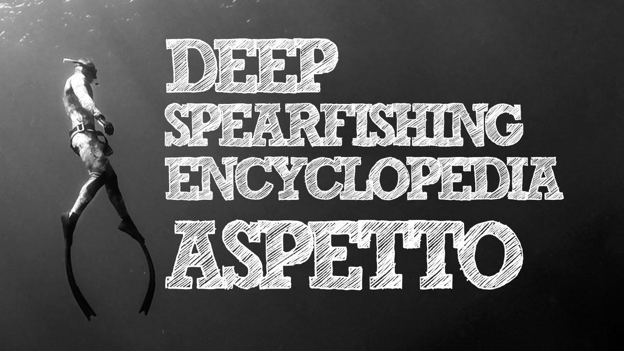 Deep Spearfishing Encyclopedia: Aspetto 1