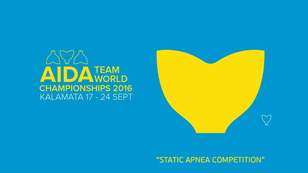 Video: Static Competition Day At The AIDA Team Freediving World Championships 2016 2