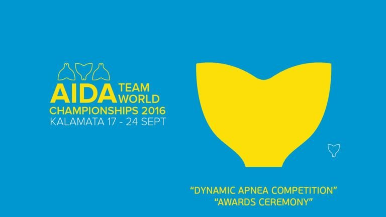 Video: Dynamic Competition Day & Closing Ceremony At The AIDA Team Freediving World Championships 2016