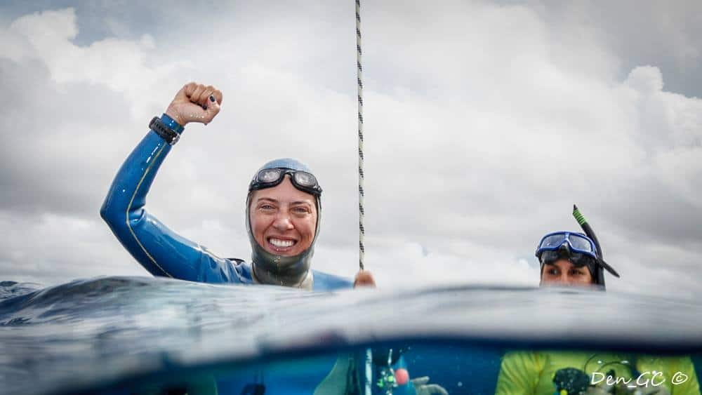 Carolina Schrappe of Brazil Smashes South America Freediving Record 2