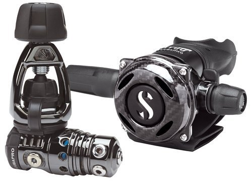 Scubapro MK25 EVO/A700 Carbon Black Tech by Scubapro