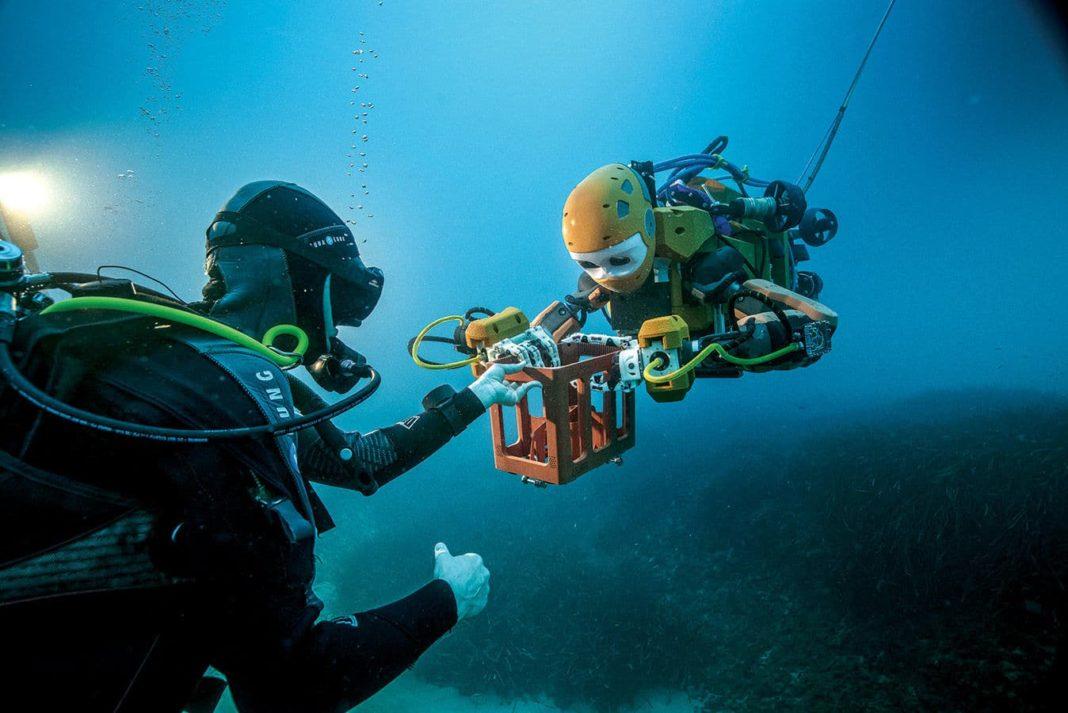'Robo Mermaid' Goes Where Divers Can't (Photo credit: Osada/Seguin/Drassm)