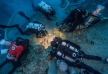 Human Skeleton Found In Aegean Sea Shipwreck (Photo credit: Brett Seymour, EUA/WHOI/ARGO)