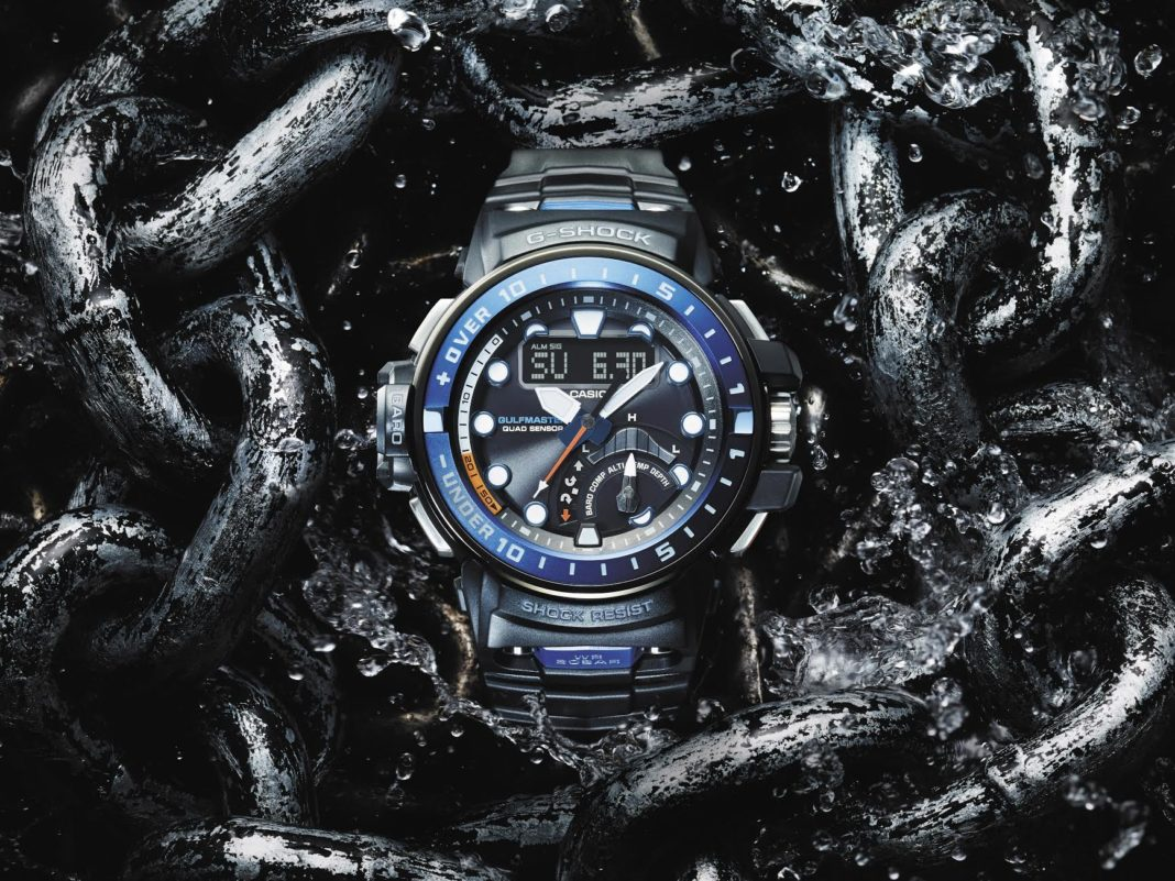 Latest G-SHOCK Watch Now Has A Depth Sensor