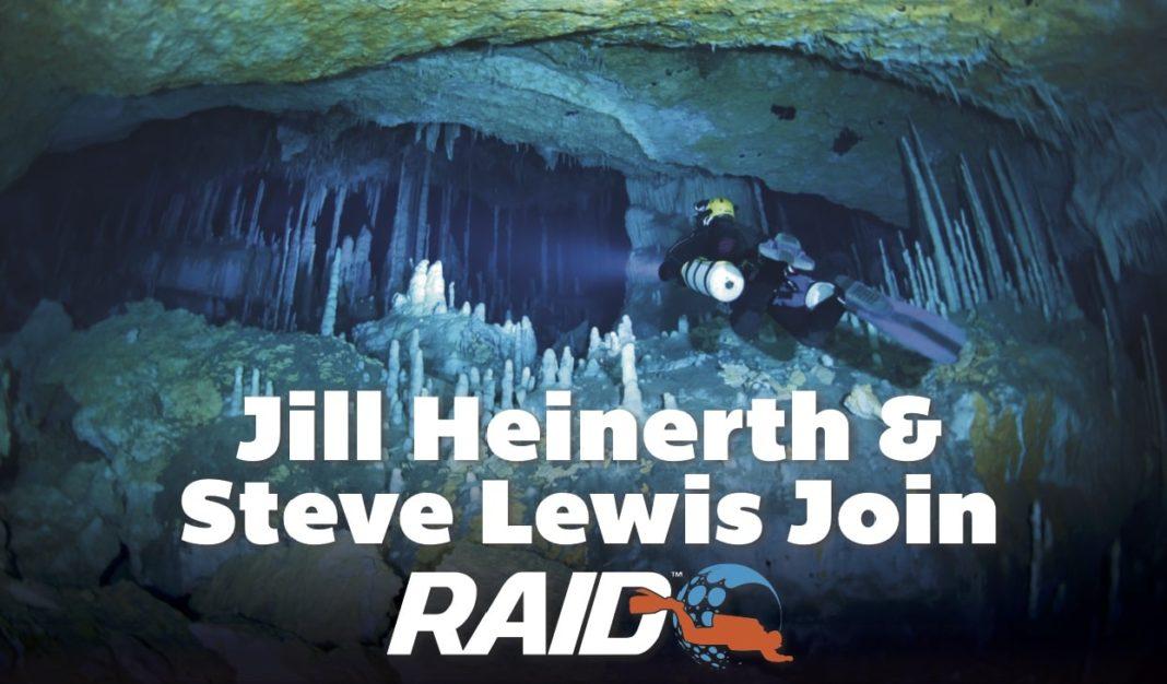 Steve Lewis and Jill Heinerth RAID