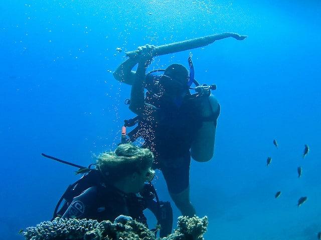 deep diver nitrogen narcosis