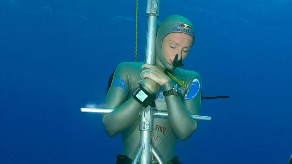 Tanya Streeter No Limits Dive - 160m