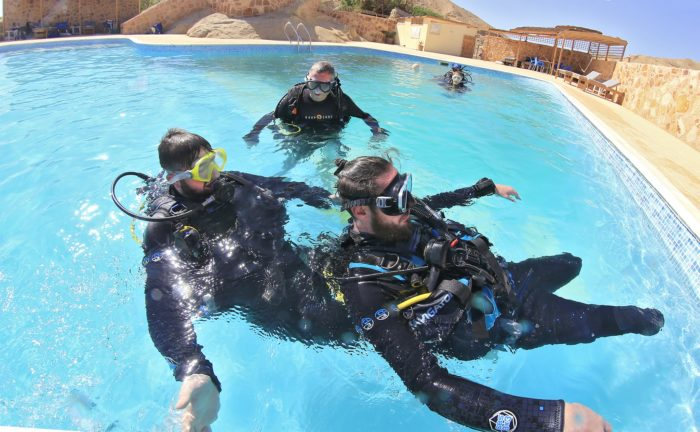 Deptherapy Divers Pool Training