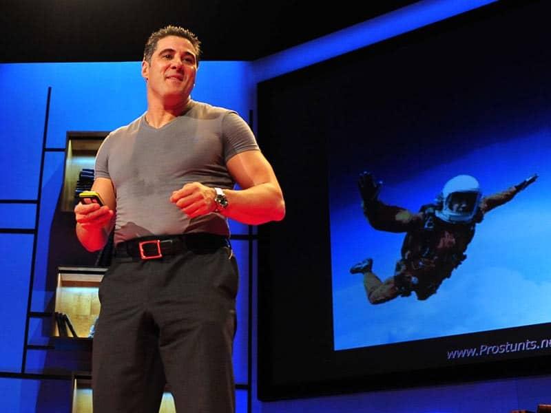 Steve Truglia Giving a TED talk