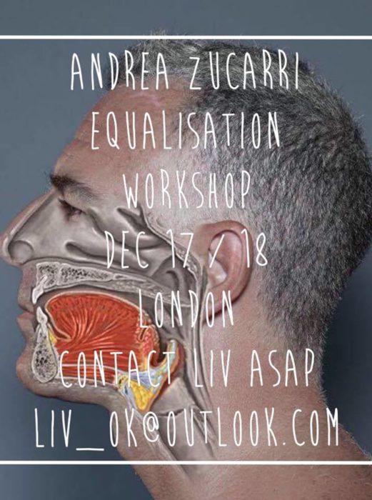 Andrea Zuccari Equalization Masterclass