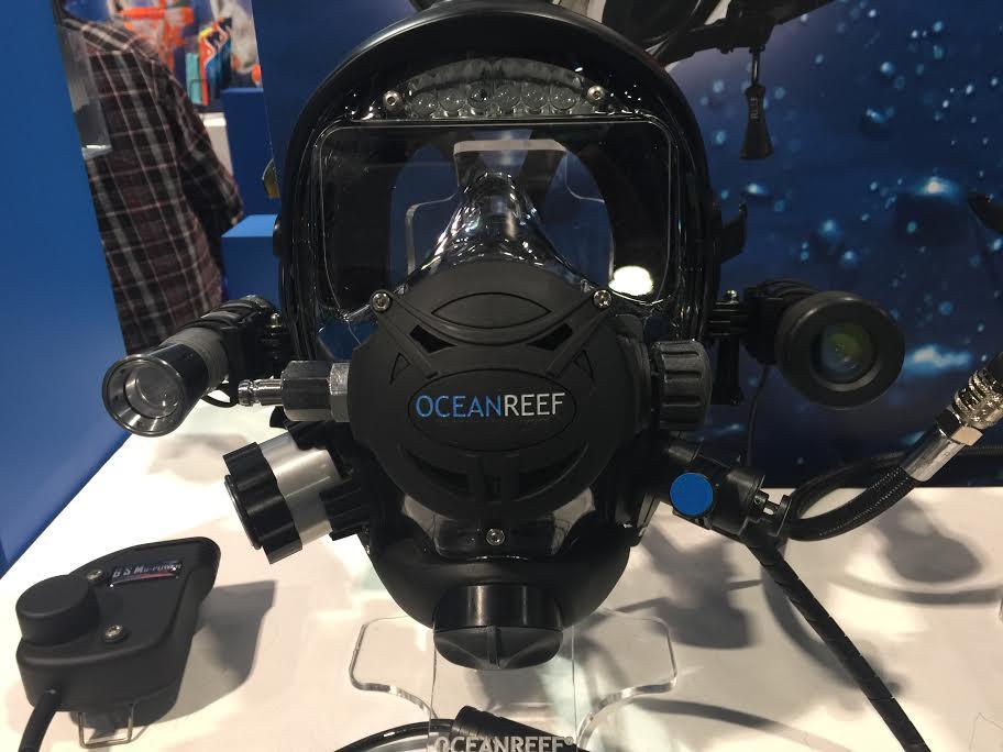 Ocean Reef's Integrated Dive Mask