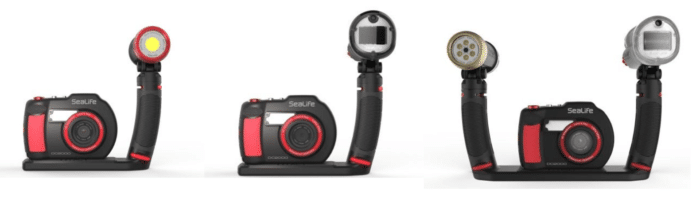 SeaLife's Three New DC2000 Camera Sets