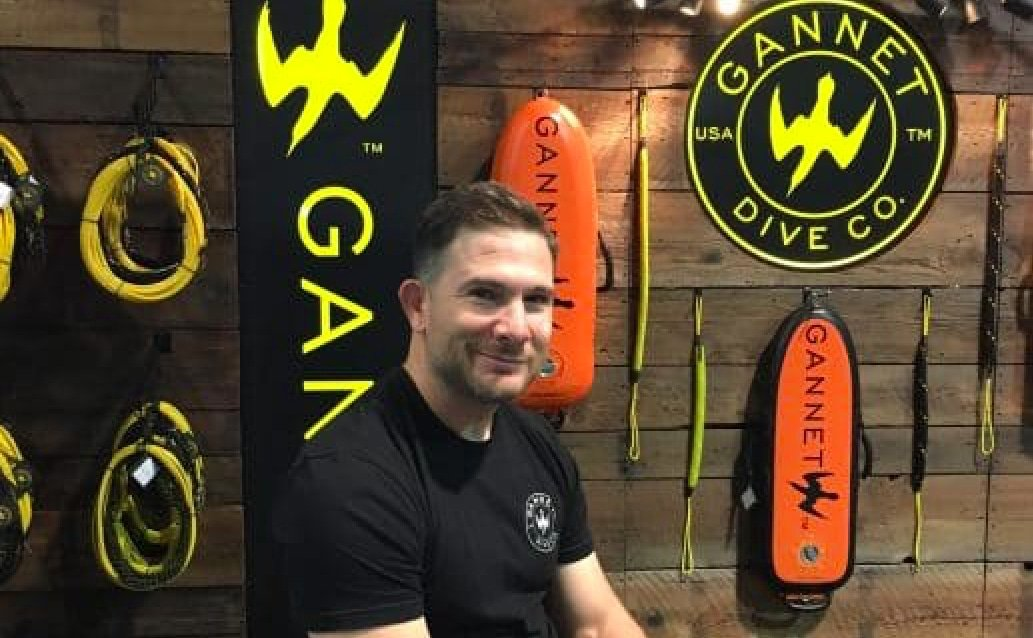 Garo Jack Hachigian, owner Gannet Dive Co.