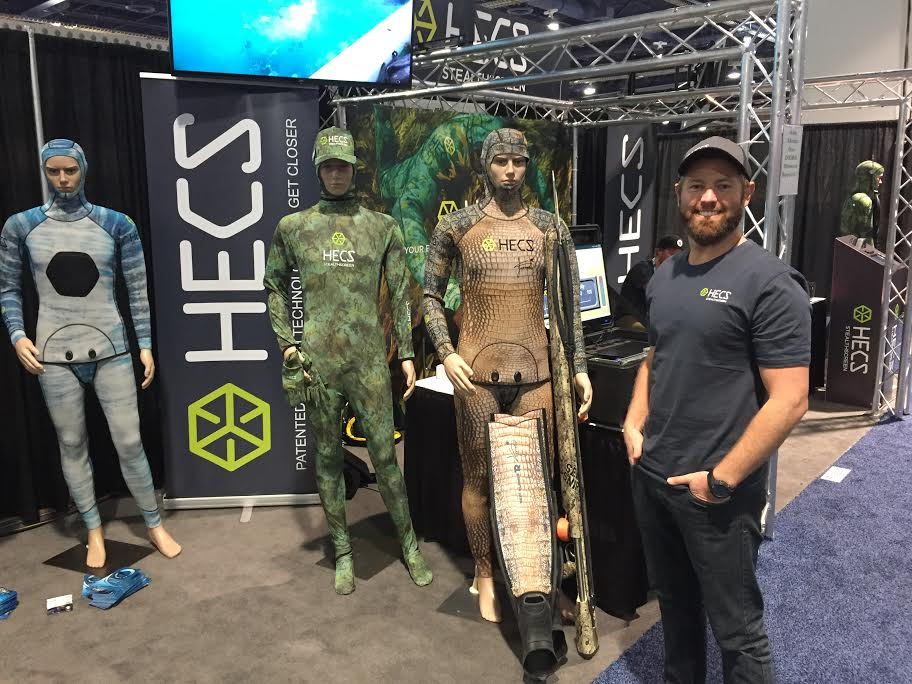 HECS Showcases Stealthy Wetsuits At DEMA Show 2016