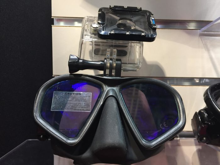 Hammerhead Spearguns' new Action Camera Ready Mask