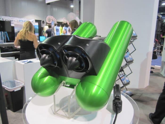 Indigo Industries' Nautilus GLH diver propulsion vehicle