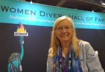 Bonnie was awarded a NOGI from the Underwater Academy of Arts and Sciences for her Distinguished Service