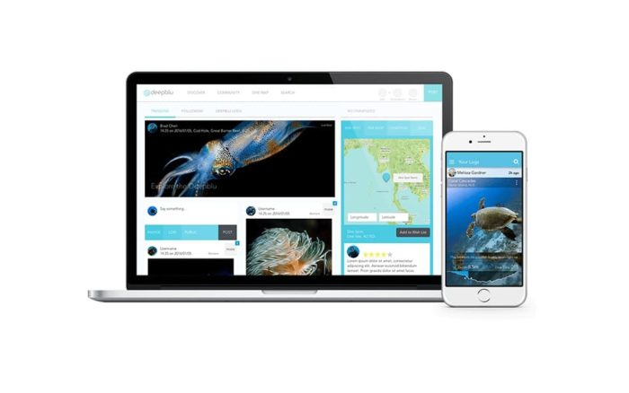 Deepblu Social Network Portal