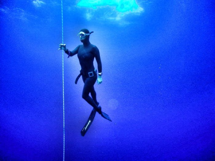 Beth Neale is a freedive instructor and ocean advocate.