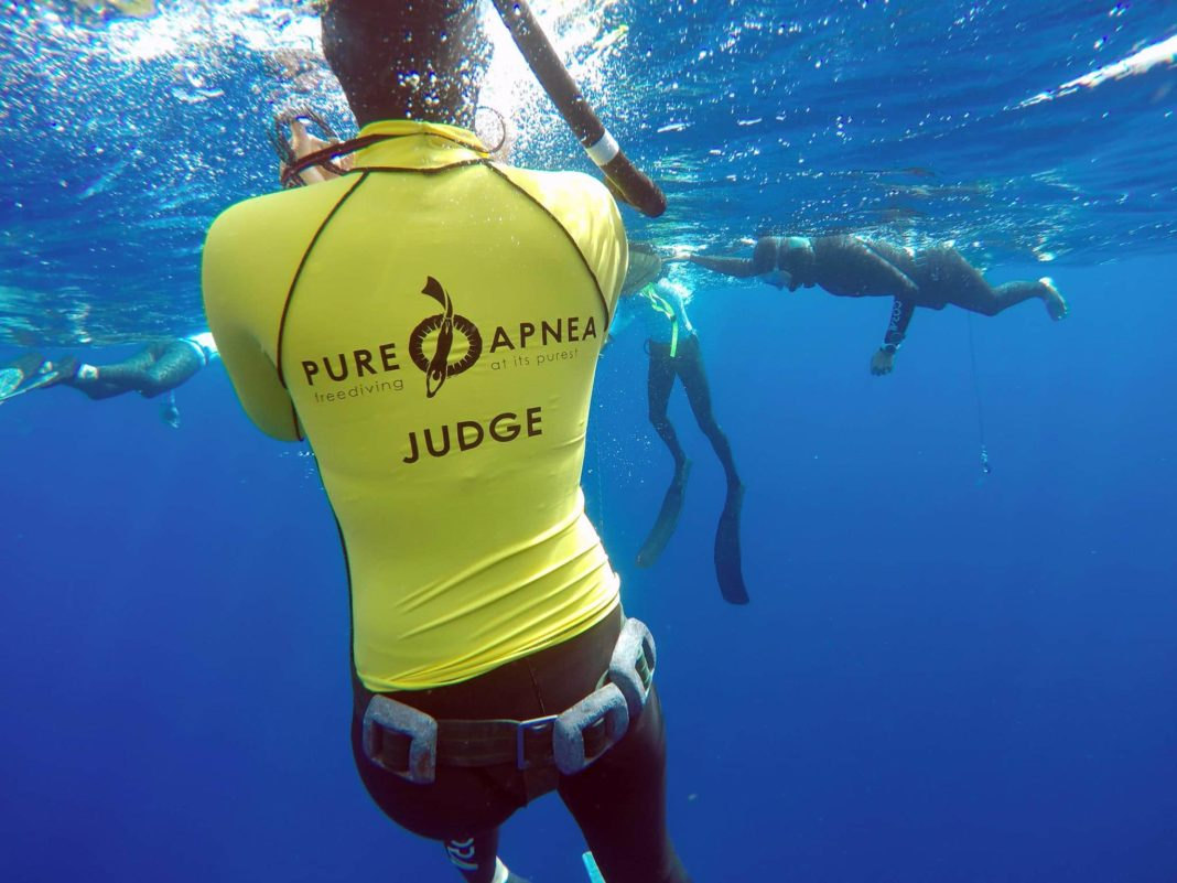 Beth Neale Sets Free Immersion African Freediving Continental Record For I AM WATER 2