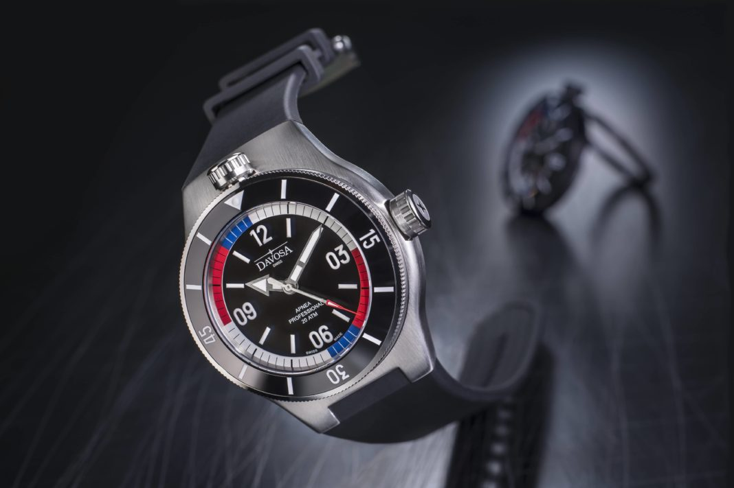 DAVOSA's New Apnea Diver Automatic Freediving Watch