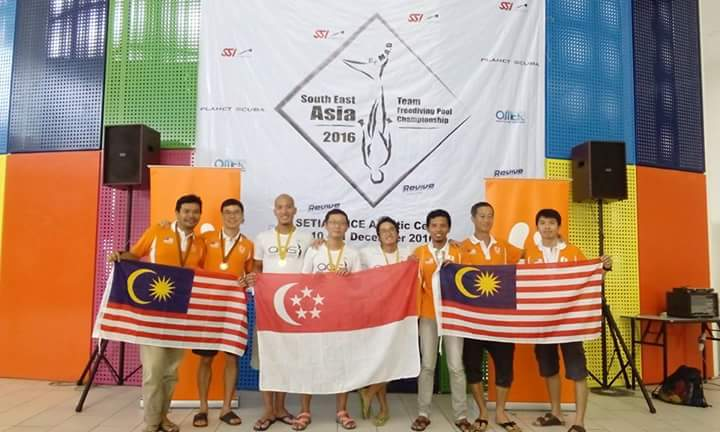 Results of the South East Asia Team Freediving Pool competition 2
