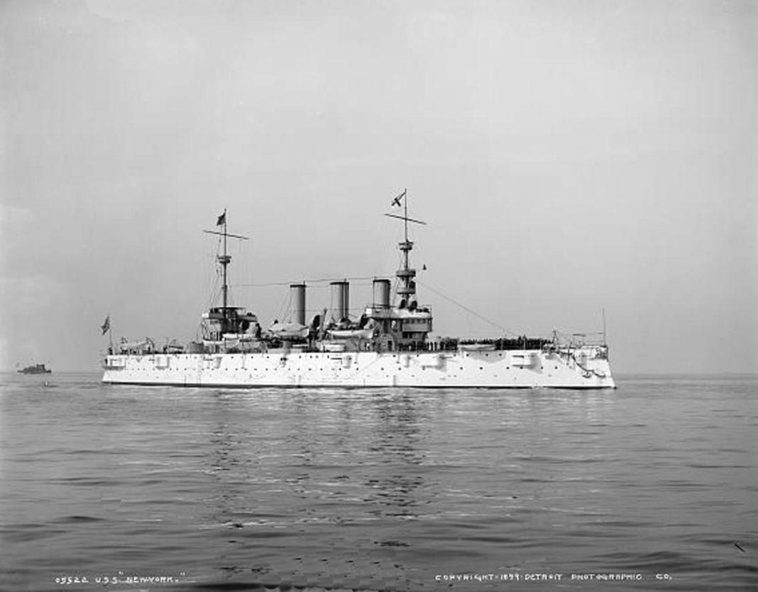 USS New York Acr-2 subic bay