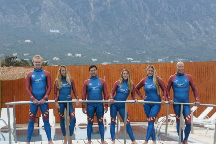 Team USA at the 2016 World Championships in Kalamata, Greece
