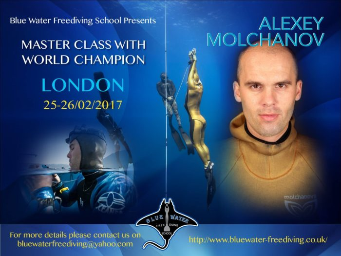 Alexey Molchanov Masterclass London 2017 Flyer